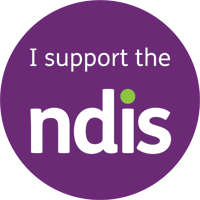 We support the National Disability Insurance Scheme (NDIS)