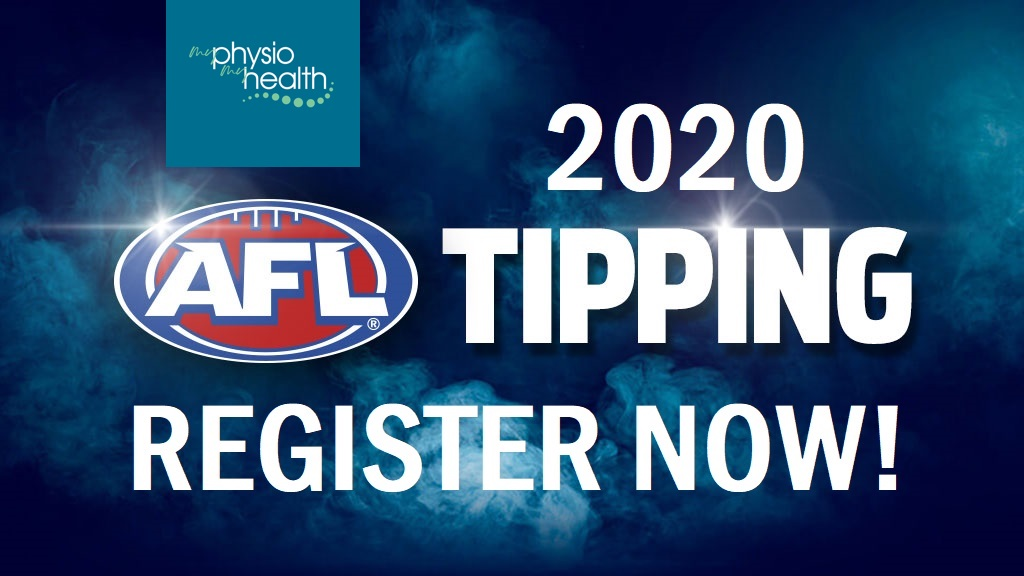 Join the My Physio My Health Footy Tipping Competition this season