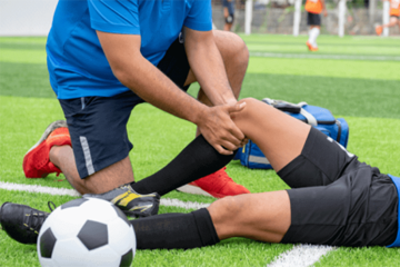 Our qualified physios treat all types of sporting injuries.